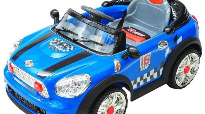 Mini Car Kinderauto 6v Rc Blauw