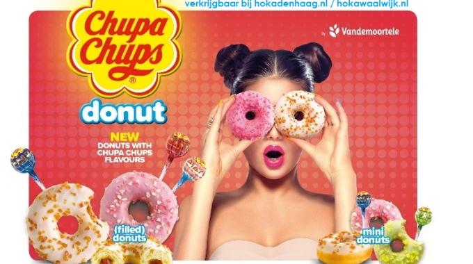 Nieuw In Ons Assortiment: Chupa Chups Donuts!
